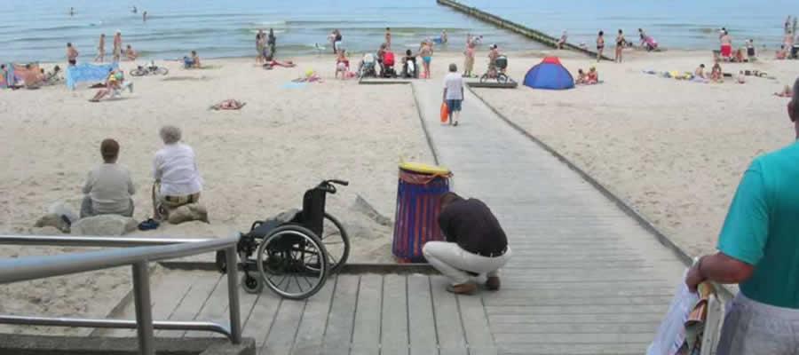 Aménagement de plage public hanit à la Réunion 974